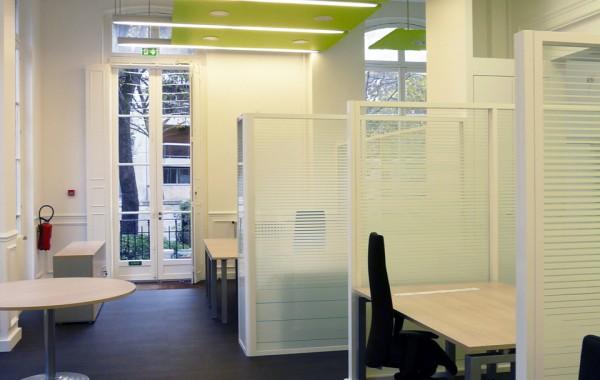 Réhabilitation d'un espace de Bureau  Rue Molitor à 75016 Paris